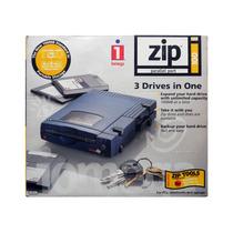 Iomega Zip Drive 100mb Funcionando En Caja Fuente Y Trafo