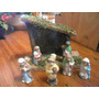 2 Pesebres Ingleses $399 Completos !! De Ceramica ..