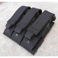 Porta Cargador Triple Para 9mm Tipo Blackhawk, Condor, 5.11