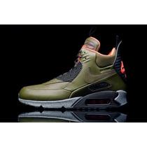 Zapatillas Nike Air Max 90 Sneakerboot.100% Original