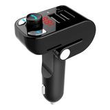 Transmisor Fm Bluetooth Receptor Sd Cargador Usb Manos Libre