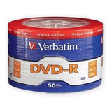 Dvd Verbatim -r Bulk 50 Unidades