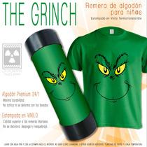 c5443dc34 Remera Para Niños The Grinch Navidad  01 - La Planta Nuclear