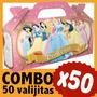 Bolsita Golosinera Princesas Cajita Infantil Combo X 50