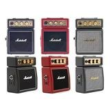 Amplificador De Guitarra Portatil Marshall Ms2 Liquido