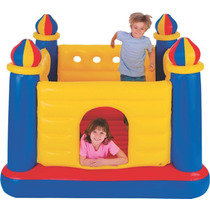 Castillo Inflable Intex Pelotero Saltarin 175 X 175