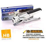 Abrochadora Kangaro Hp-10 Pinza Metal Simil Mit + Broches 10