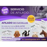 Afilado De Cuchillas Peluqueria Canina Peladora Andis