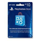 Tarjeta Psn 10 U$ Digital Usa | Entrega Inmediata- Gamer24hs