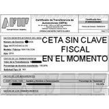 Formulario Ceta Sin Clave Fiscal , Sin Titular Garantizado