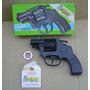 Revolver A Cebita Tambor De Metal Edison Italia Sin Uso