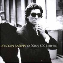 Joaquin Sabina 19 Dias Y 500 Noches Oferta Nuevo Sellado