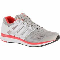 Zapatillas De Running Mujer Adidas Nova Bounce Gris/rosa