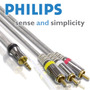 Cable Miniplug 3.5 A 3 Rca Audio Y Video Philips Swv3533