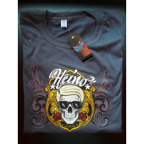 Remeras Heino Estampado Transfer Rock Punk Musica