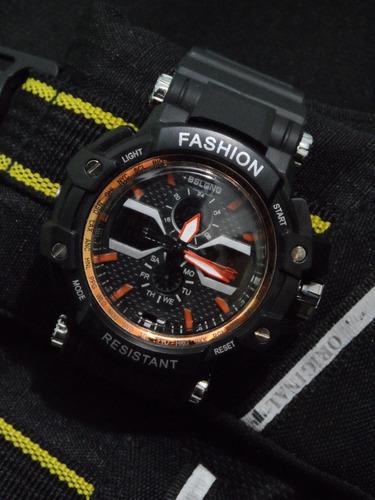 d5a82fcea5c3 Reloj Para Hombre Deportivo Militar Fashion G Shock