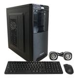 Gabinete Pc Kit Fuente 500w +teclado +mouse +parlante