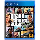 Gta 5 Grand Theft Auto V Premium Edition Ps4 Original Fisico
