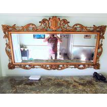 Gran Espejo Antiguo, Biselado, Marco Francés. Único