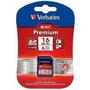 Tarjeta Premium Sdhc Verbatim 16gb Clase 10 Camara O Video