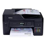 Impresora A Color Multifunción Brother Mfc-t4 Series Mfc-t4500dw Con Wifi 220v Negra