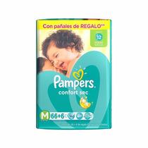 Promopack!!! Pañales Pampers Confort Sec Medianos