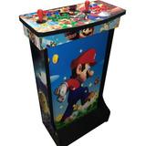 Arcade Comando Multijuegos 20 Consolas 8000 Juegos Pedestal