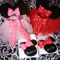 Disfraz Infantil De Minnie Print , Personalizado, A Medida