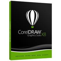 Corel Draw X8 - Full + Entrega En El Acto!
