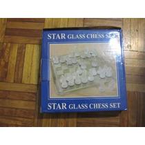 Ajedrez De Vidrio - Star Glass Chess Set