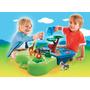 Playmobil 1,2,3 Zoo Y Acuario Juego Con Agua Recoleta