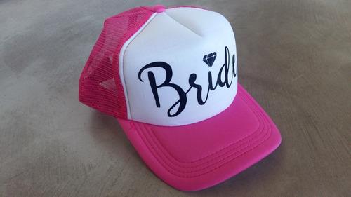 Gorra Personalizada Team Bride Squad Groom Despedida Soltera en ... f6554e0b5ff
