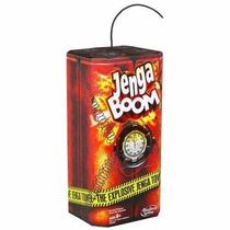 Juego De Mesa Jenga Boom Contra Reloj Explosivo Hasbro