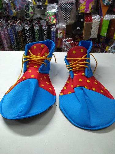 Zapato Payaso Disfraz Clown Cotillon b8060661801