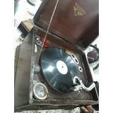 Vitrola Víctor Talking Machine Año 1904, Puas Y Discos!