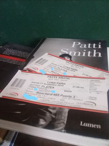 Entrada Patti Smith - Luna Park