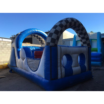 Inflable Mini Carrera Cars - 7 X 3 Mts., Sin Motor