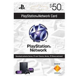 Tarjeta Psn 50 Usd Usa Digital Juegos Ps3 Ps4 Network Card