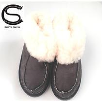5556c853e65 Botas Pantuflas Zapatos Cuero De Oveja Corderito Suela Goma en venta ...
