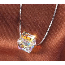 Cristal Cubo Ab 6mm Original Swarovski-elements.