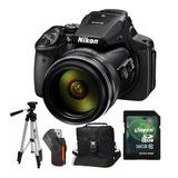 Camara Nikon P900 83x Trípode 1,35mts+ Sd 16gb+ Bolso+ Envío
