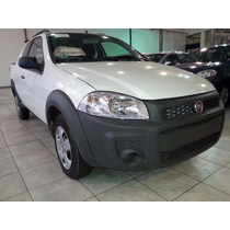 Fiat Strada Working Doble Cabina-anticipo $20.000 Y Cuotas