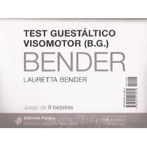 Test Guestaltico Visomotor Juego De 9 Tarjetas Bender Paidos