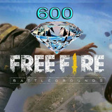 600 Diamantes Free Fire
