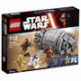 Educando Lego Construcción Star Wars Droid Escape Pod 75136