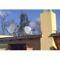 Antena Parabolica Satelital Fta Bda.ku Fabricacion Inglesa