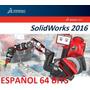 Solid Works Premium 2016 Sp1 Español +8000 Bloques +tutorial