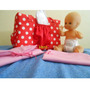 Bolso Para Nena De Bebotes Con Mini Pañales