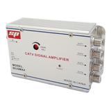 Amplificador De Señal Para Tv 4 Salidas 30 Db Antena Cable 220v Spe