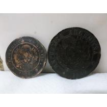 Centavos Patacon 1ctv 1884 2ctvs 1889 Lote X 2